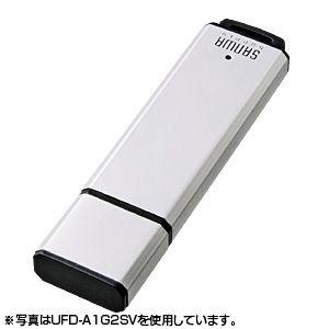 サンワサプライ USB2.0メモリ32Gシルバー UFD-A32G2SVK