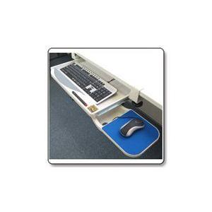 サンコー クランプ式キーボードトレイ 25272 KEYBTRAY