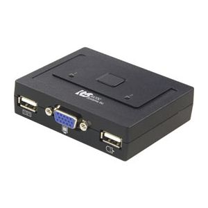 ラトックシステム USB接続 (2台用) ミニBOXタイプ REX-230U