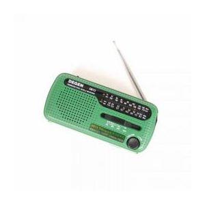 サンコー 短波対応ダイナモ&ソーラー充電LEDライトラジオ DNSLSWRA