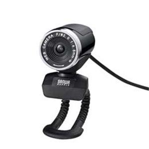 サンワサプライ WEBカメラセット(200万画素、ブラック) CMS-V30SETBK