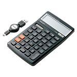 サンワサプライ 電卓テンキー(ブラック) NT-DEN2UBK