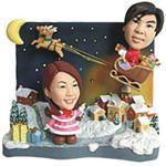 WooBic 人形 ふたり&家族バージョン Cタイプ クリスマス C16-B/C16-G