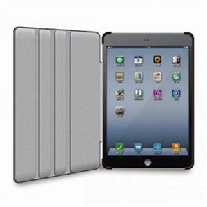 ELECOM(エレコム) iPad mini用ソフトレザーカバー4段階(ブラック) TB-A12SPLF2BK
