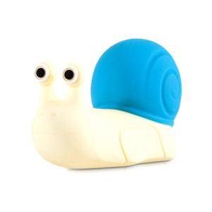 CUT&PASTE かたつむりの形をした可愛いUSBメモリー8GBDR ブルー 11071-8B