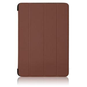 ブライトンネット iPadmini2012用ラバーコーティングロールスタンドケース ブラウン BI-PADMRCASE/BR