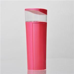 サンコー 持って歩けるハンディミスト付きモバイルバッテリー ピンク