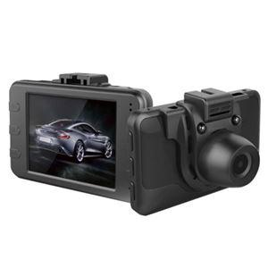 【車載用防犯カメラ】テック 2.4型液晶搭載 薄型・軽量ドライブレコーダー TECDVRVGA TECDVRVGA