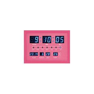 マクロス スマートデジタルクロック(ピンク) MEC-1PK