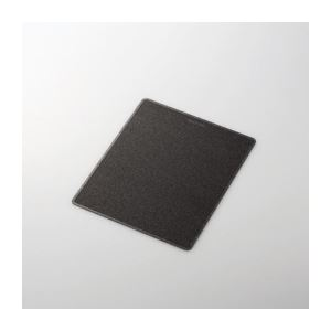 (まとめ)エレコム レーザーマウス用マウスパッド MP-108BK【×5セット】