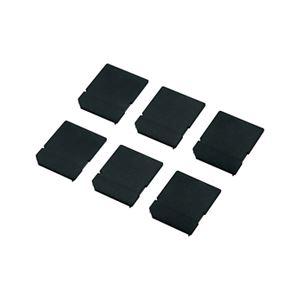(まとめ)サンワサプライ SDカードスロット用キャップ TK-SDCAP【×10セット】