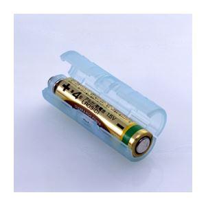 (まとめ)スマイルキッズ 単4が単3になる電池アダプターBL ADC430BL【×10セット】