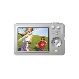 (まとめ)エレコム デジタルカメラ用液晶保護フィルム(エアーレスタイプ) DGP-004FLA【×10セット】