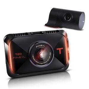 INBYTE 2カメラHD 液晶付ドライブレコーダーFineVu T20