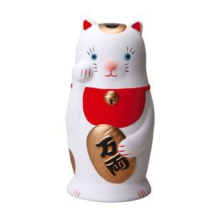 (まとめ)セトクラフト コインバンク(福並び)招き猫 SP-1703-130【×5セット】