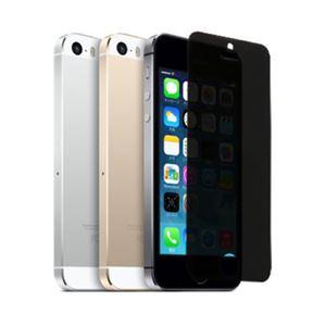 (まとめ)ITPROTECH 強化ガラスフィルム のぞき見防止タイプ For iPhone5 YT-GFILM-FPP/IP5【×5セット】
