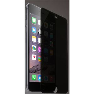 (まとめ)ITPROTECH 強化ガラスフィルム のぞき見防止タイプ For iPhone6 Plus YT-GFILM-FPP/IP6P【×5セット】
