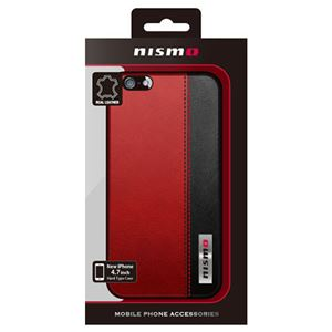 NISSAN 公式ライセンス品 NISMO BICOLOR LEATHER HARD CASE iPhone6 用 NM-P47S3RD