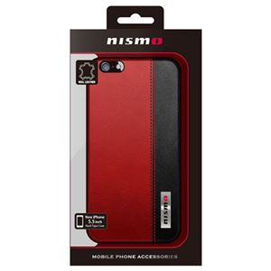 NISSAN 公式ライセンス品 NISMO BICOLOR LEATHER HARD CASE iPhone6 PLUS用 NM-P55S3RD