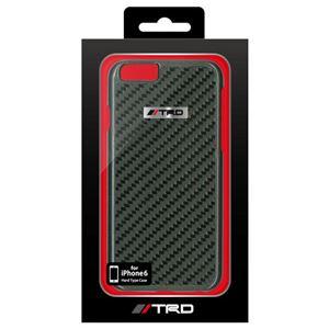 トヨタ レーシング デベロップメント公式ライセンス品 Real Carbon Back Cover for iPhone6 iPhone6 用 TRD-P47S2
