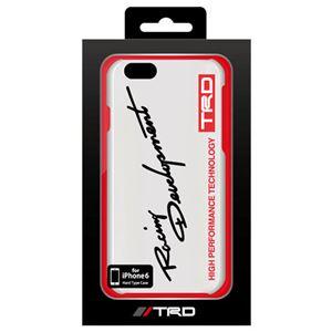 (まとめ)トヨタ レーシング デベロップメント公式ライセンス品 PC Back Cover for iPhone6 iPhone6 用 TRD-P47S3【×2セット】