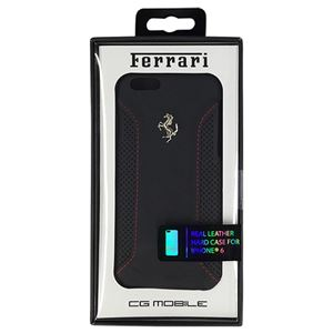 FERRARI 公式ライセンス品 F12 Hard Case Black iPhone6 用 FEF12HCP6BL