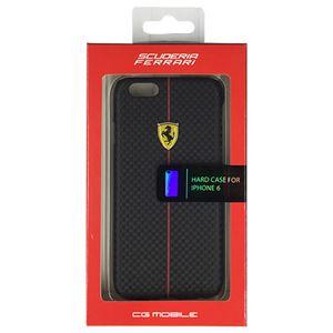 FERRARI 公式ライセンス品 FORMULA ONE Hard Case Black iPhone6 用 FEFOCHCP6BL
