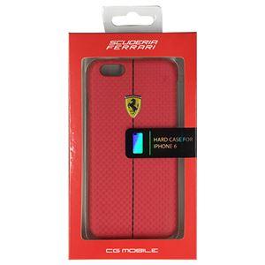 FERRARI 公式ライセンス品 FORMULA ONE Hard Case Red iPhone6 用 FEFOCHCP6RE