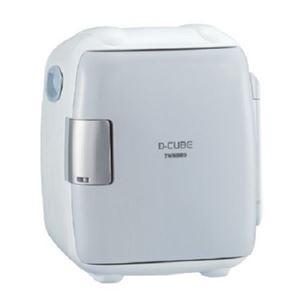 【訳あり・在庫処分】ツインバード 5.5L コンパクト電子保冷保温ボックス(グレー)TWINBIRD D-CUBE S HR-DB06GY
