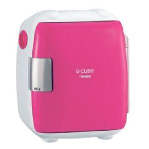 ツインバード 2電源式コンパクト電子保冷保温ボックス D-CUBE S ピンク HR-DB06P
