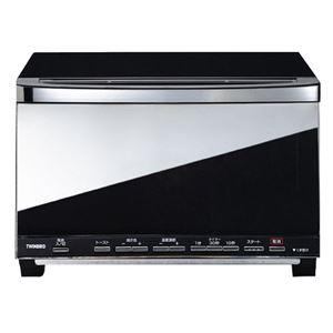 ツインバード ミラーガラスオーブントースター ブラック TS-D057B
