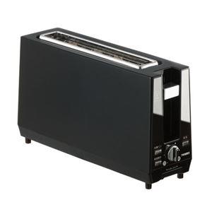 ツインバード ポップアップトースター ブラック TS-D424B