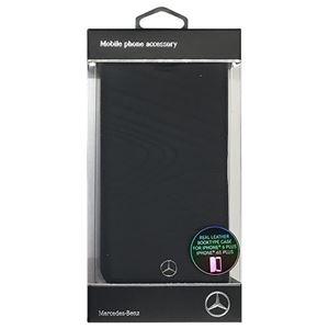 Mercedes 公式ライセンス品 ORGANIC III 本革手帳型ケース Black MEFLBKP6LOLBK