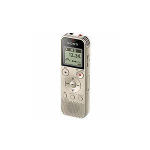 ソニー ICD-PX470FNC 4GB内蔵+外部マイクロSDカードスロット搭載 リニアPCM対応ICレコーダー ゴールド