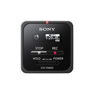 ソニー ICD-TX800-B リニアPCM対応ICレコーダー 16GB ブラック