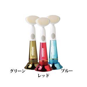 マイクロソリューション COCOROMAKE 音波振動洗顔ブラシ ゴールド MS-CM02G