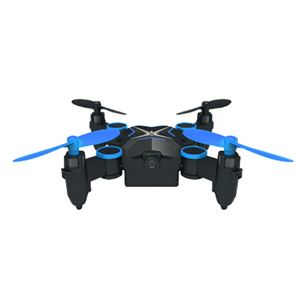 ITPROTECH HDカメラ搭載 ミニドローン ブルー YT-901HSBL