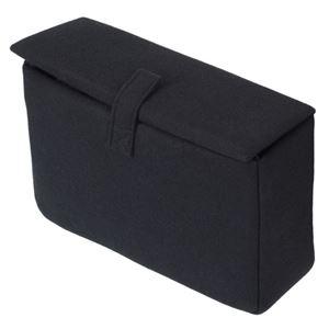 (まとめ) エツミ インナーボックスフラップE ブラック VE-6876 【×2セット】