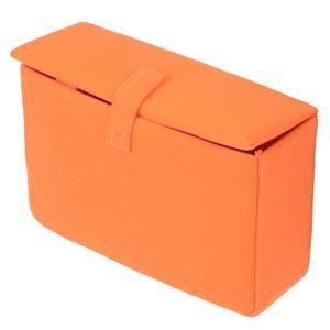 (まとめ) エツミ インナーボックスフラップE オレンジ VE-6877 【×2セット】