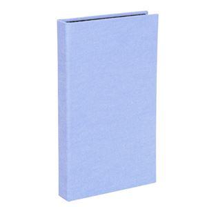 (まとめ) エツミ フォトアルバム エポカ チェキスクエア対応 40枚用 ブルーVE-5506 【×5セット】