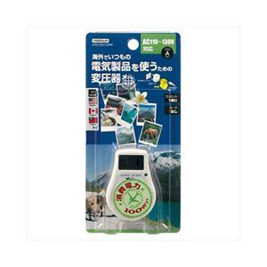 YAZAWA 海外旅行用変圧器130V100W HTD130V100W