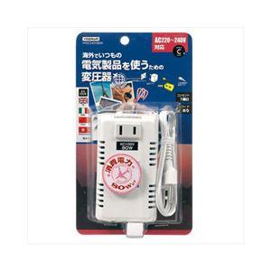 YAZAWA 海外旅行用変圧器240V80W HTDC240V80W