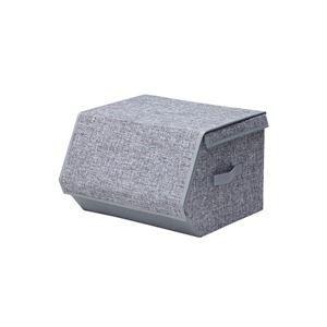 (まとめ) PROTEK マグネット式フロント収納BOX PMSB-38GR 【×3セット】