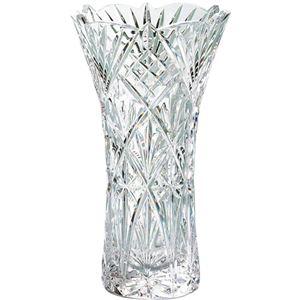 グラスワークスナルミ フローラ 25cm花瓶 C7064625 C8056107