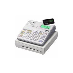 CASIO 電子レジスター (ホワイト) TE-2800-25S