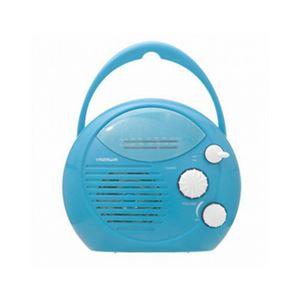 (まとめ) YAZAWA シャワーラジオ(青) SHR01BL 【×5セット】