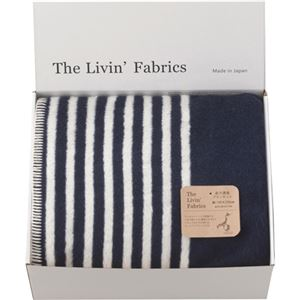 The Livin'Fabrics 泉大津産リバーシブルブランケット C8140094