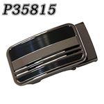 (まとめ) TENKAPAS 無段階調整 快適便利 オートロック 本革 ベルト メンズ P35815 【×2セット】