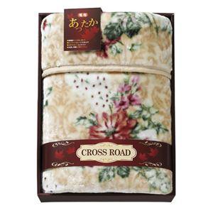 クロスロード 厚手のマイヤー毛布 B3147125