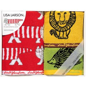 リサ・ラーソン カラフルシリーズ フェイスタオル&ウォッシュタオル2P C8091089